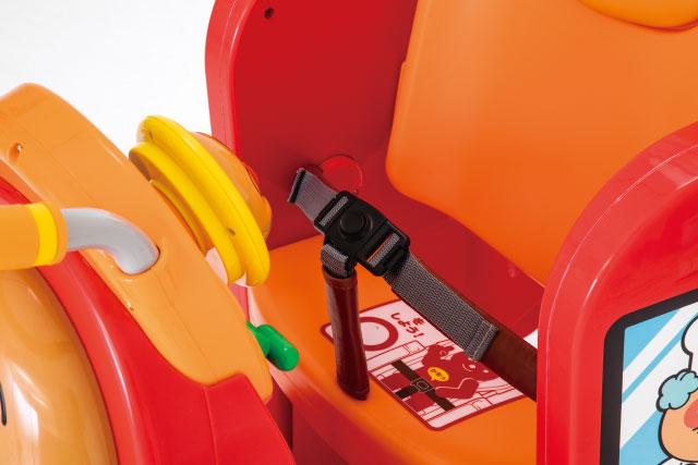 3点式のシートベルト