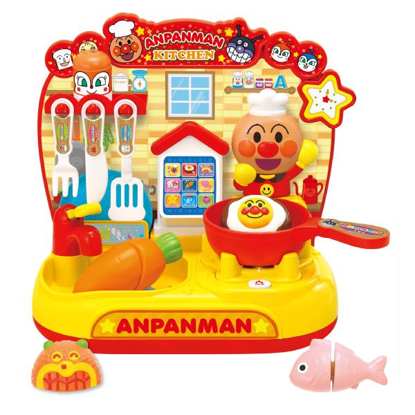 タッチでおしゃべりスマートアンパンマンキッチン